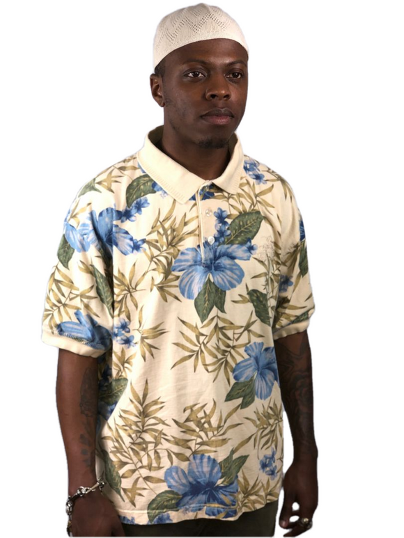 Floral Polo by Las Vegas Stylo Golf