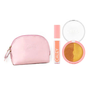Beach Babe Effortless Beauty Kit Makeup Kit Caley Golden Glow Coconut Kiss