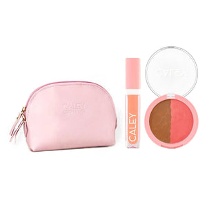 Beach Babe Effortless Beauty Kit Makeup Kit Caley Signature Glow Coconut Kiss