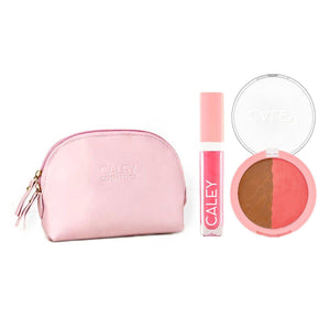 Beach Babe Effortless Beauty Kit Makeup Kit Caley Signature Glow Island Blossom