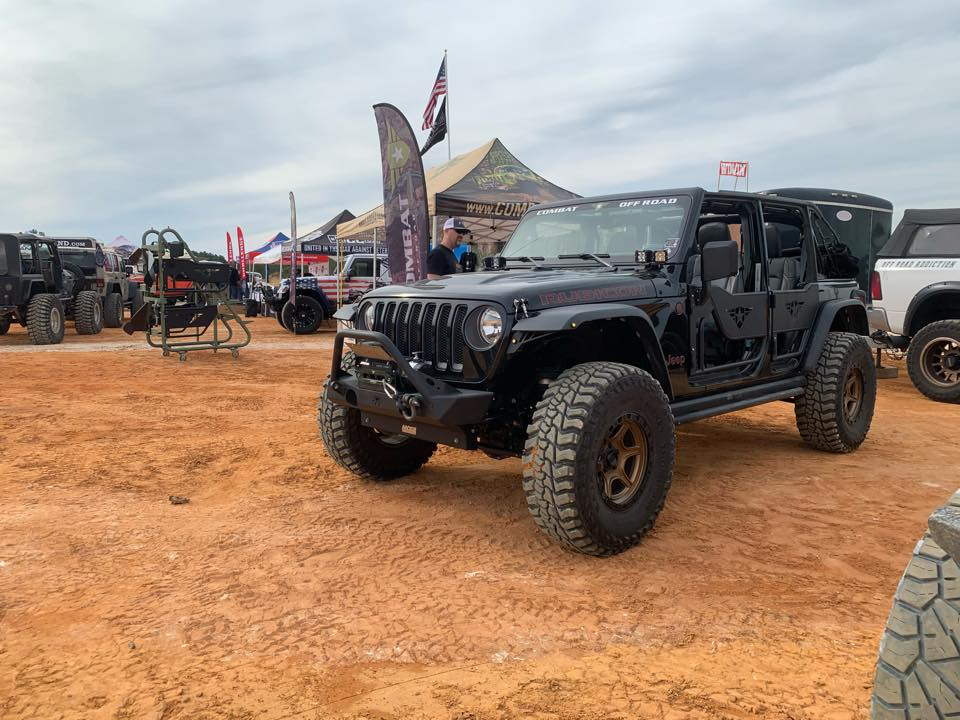 Combat Black Jeep JL at Sherriff's Jeep Fest in Jasper, GA