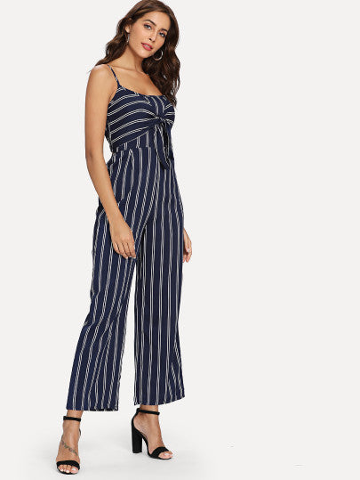 Mika Striped Jumpsuit