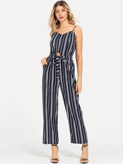 Kendra Striped Jumpsuit