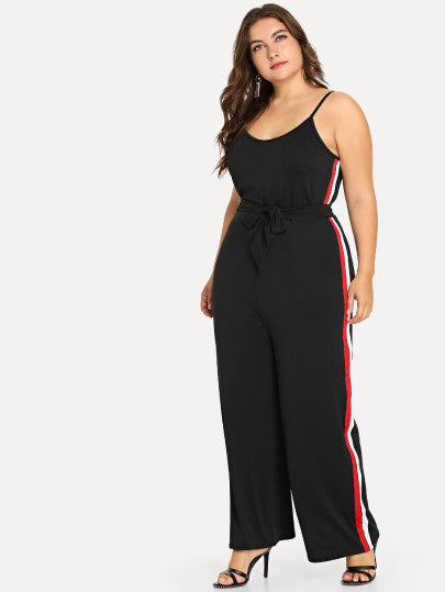 Arita Plus Size Black Jumpsuit