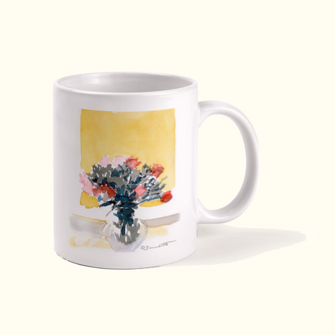 Golden Still Life Mug