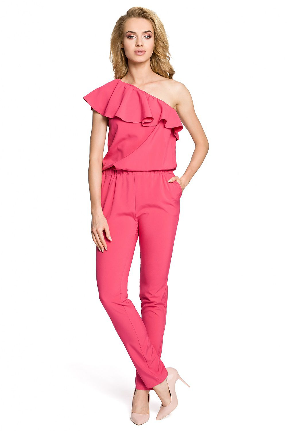 Perfectly Pink Jumpsuit