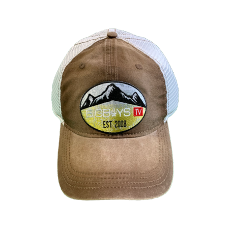 Hat | Mountains Patch Snapback