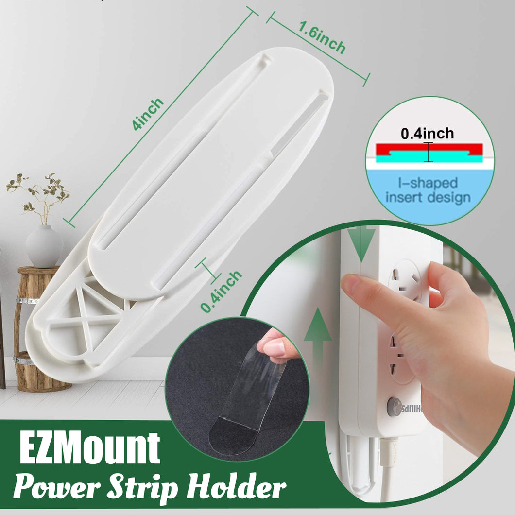 EZMount Power Strip Holder🔥Stock Clearance Up 65% Discount Now!