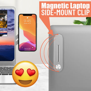 Magnetic Laptop Side-Mount Clip📢Mid-Year 50% Special Offer🔥