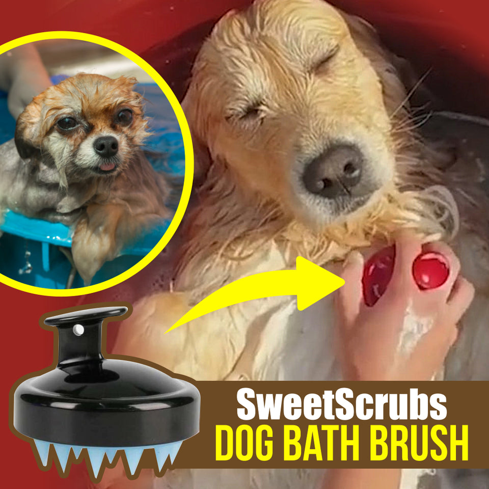 SweetScrubs Dog Bath Brush