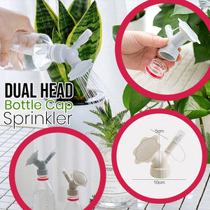 Dual Head Bottle Cap Sprinkler