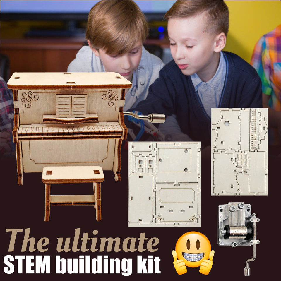 TinkerToyz - Kids DIY Building Kit
