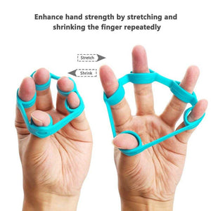 3 Levels Finger and Hand Exercise Resistance Grips and Bands wrist exercises trigger finger exercises hand stretches finger exercises