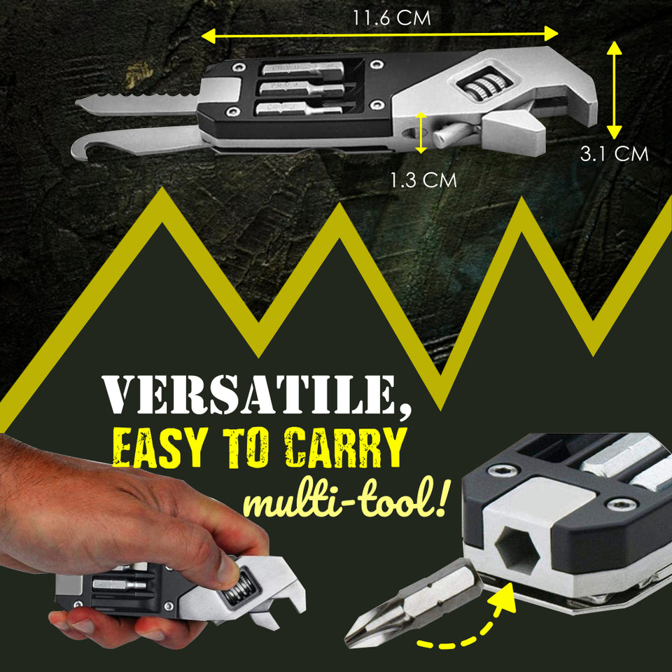 6 in 1 Adjustable Wrench Multi-tool Kit