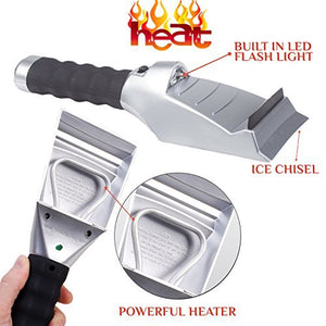 12V Car Heated Ice Scraper | Viondeals