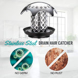 Stainless Steel Drain Hair Catcher