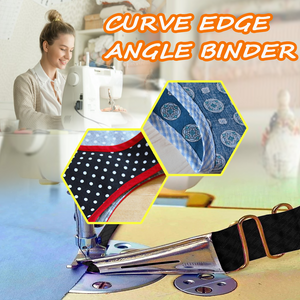 Curve Edge Angle Binder-Today Only 58% OFF🔥