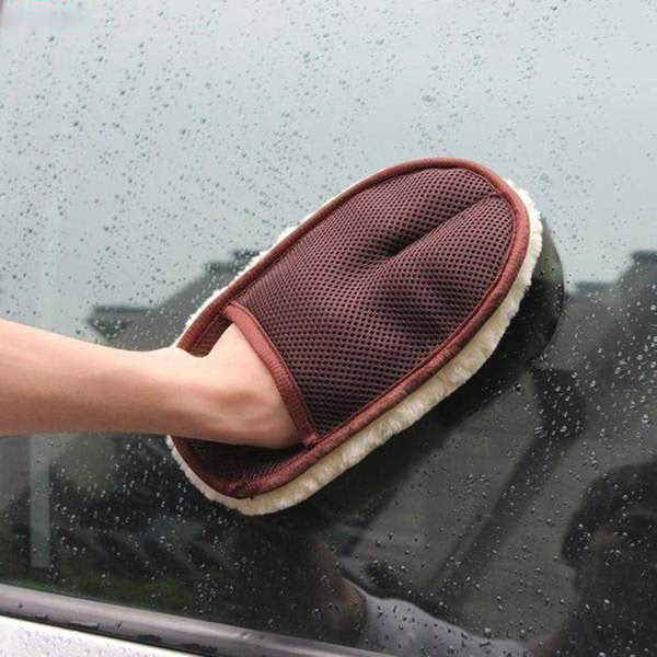 Microfiber Cleaning Hand Car Wash Window Glass Cleaner
