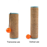 Cat Scratching Post Wrap with Toy