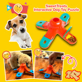 SweetTreats Interactive Dog Toy Puzzle