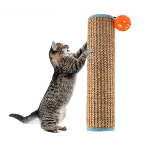 Cat Scratching Post Wrap with Toy | Viondeals
