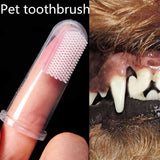 Super Soft Finger-worn Teeth Cleaning Cat Dog Tooth Brush dog teeth cleaning how to clean dogs teeth cat toothbrush cat teeth cleaning