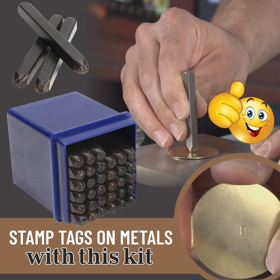 PunchArt Metal Stamping Kit