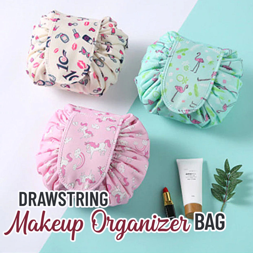 Drawstring Makeup Organizer Bag | Viondeals