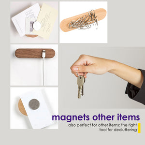 Wall-Mounted Magnetic Key Holder