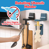 Rotating Easy Utensils Holder