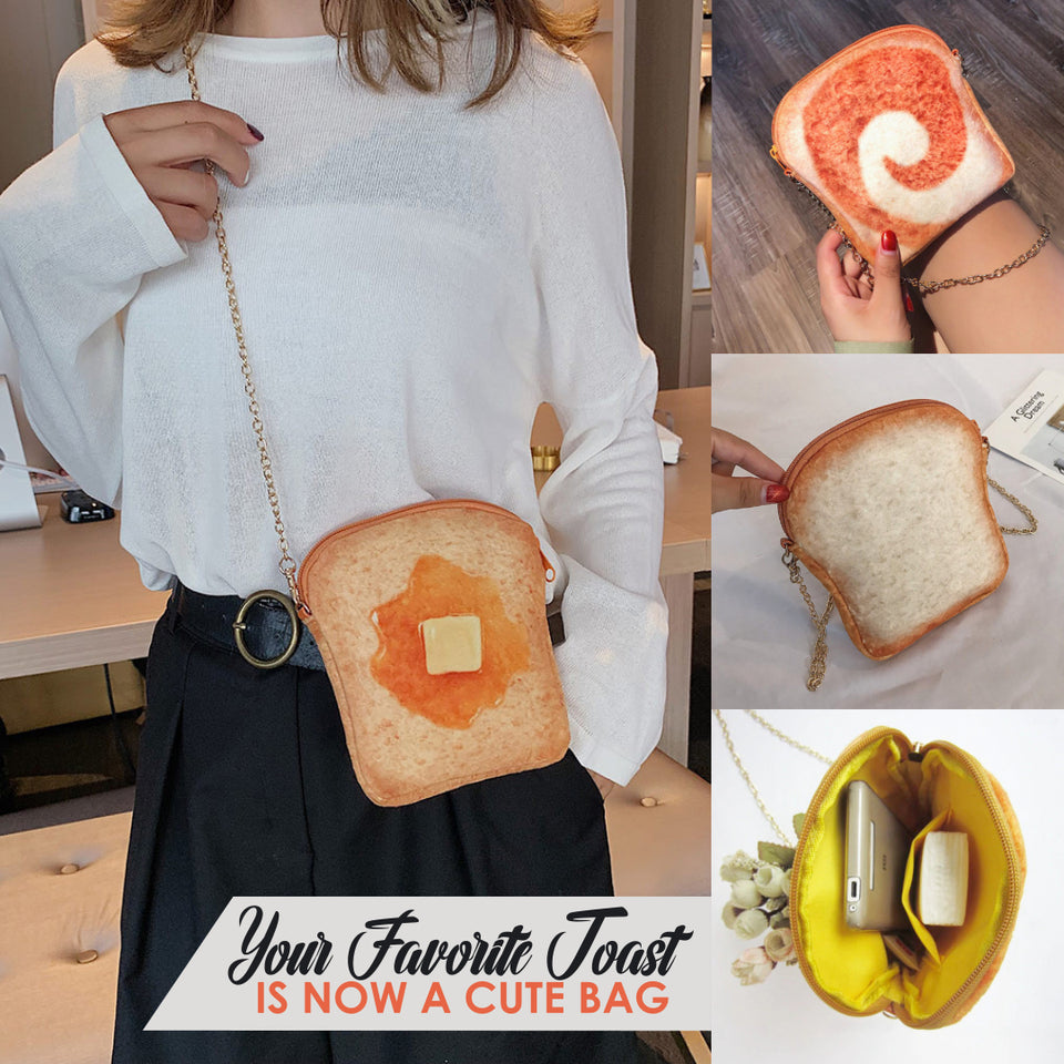 French Toast Crossbody Bag
