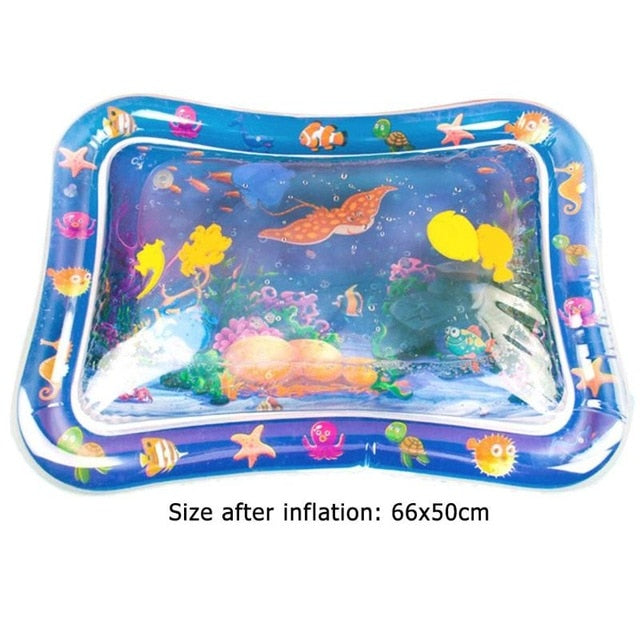 TummyTime Inflatable Baby Water Mat