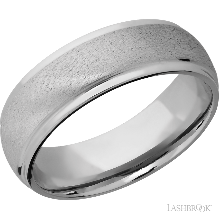 7mm Cobalt Chrome Ring