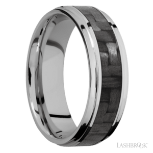Load image into Gallery viewer, Grooved Titanium Ring