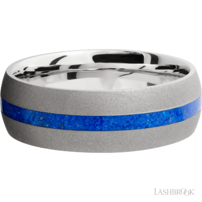 Lapis Inlay Band