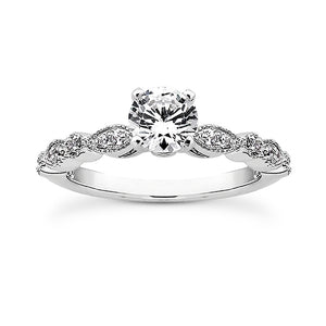 Marquise Band Wedding Ring