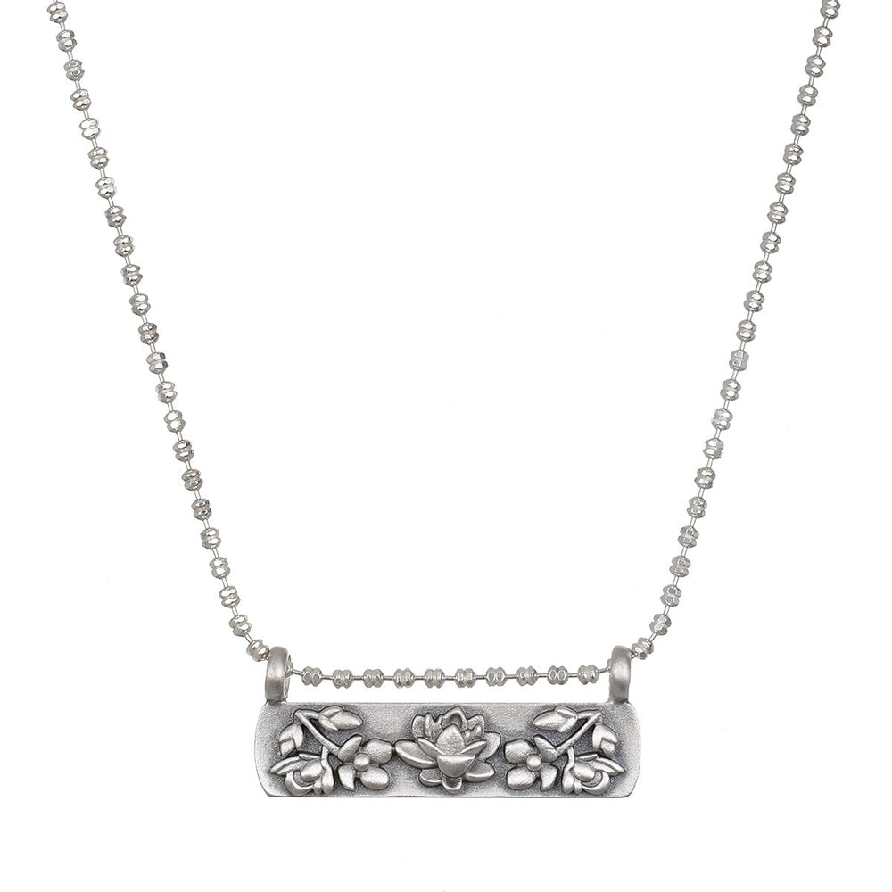 Thriving Spirit Silver Necklace