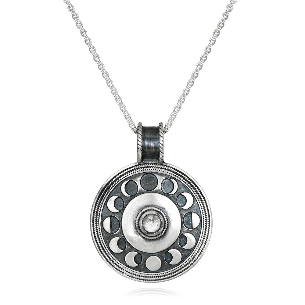 Load image into Gallery viewer, Cycles Of The Moon Necklace