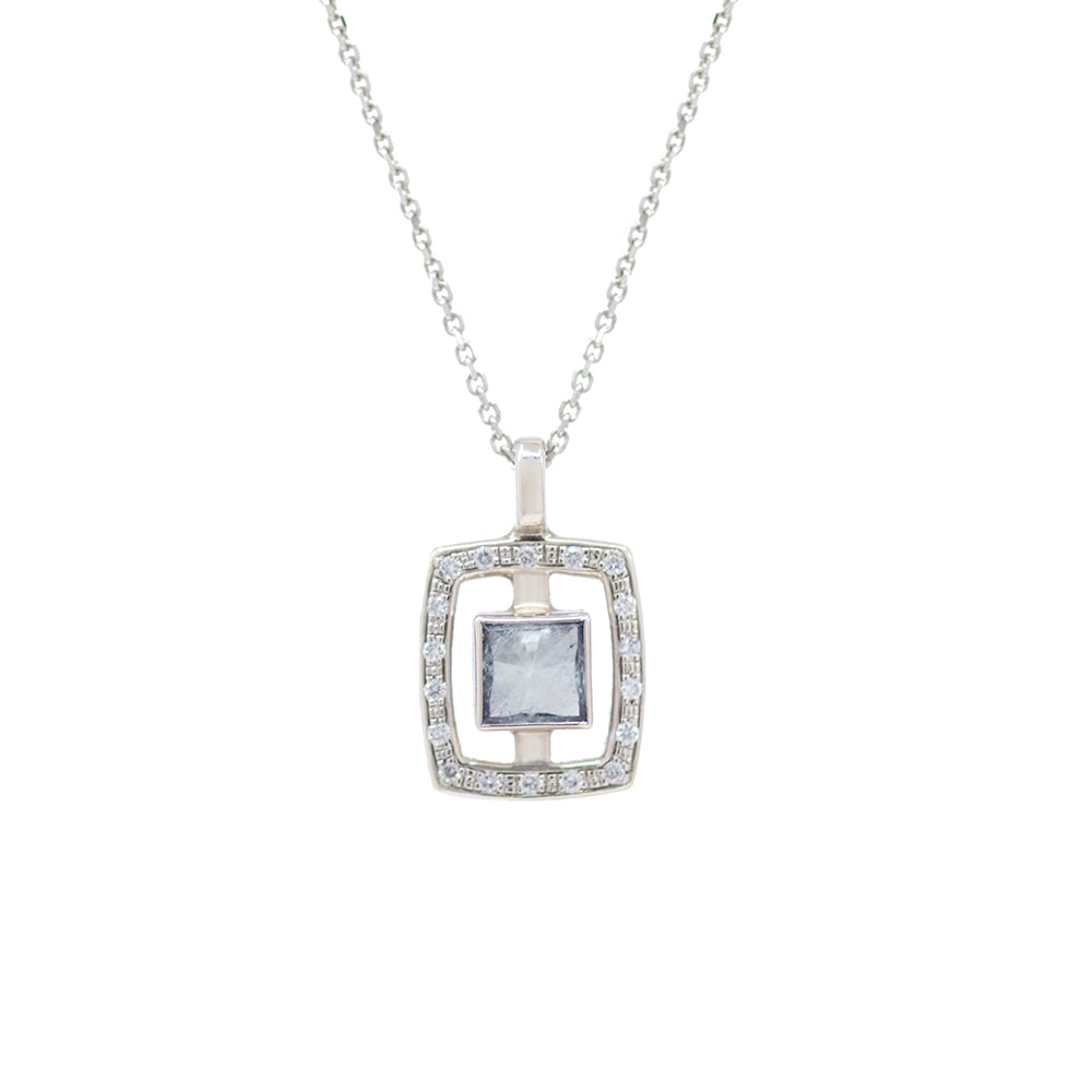 Load image into Gallery viewer, Framed Tourmaline Necklace