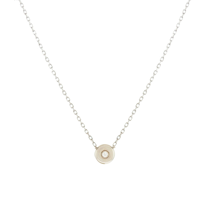 6mm Thick Bezel Necklace