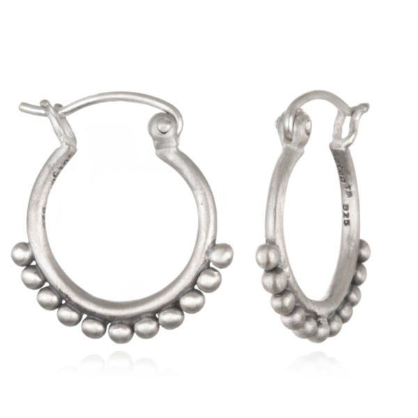 Silver Small Samsara Earrings