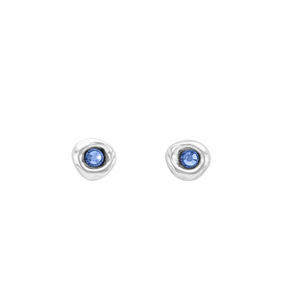 "Load image into Gallery viewer, ""Ciambella Blue"" Earrings"