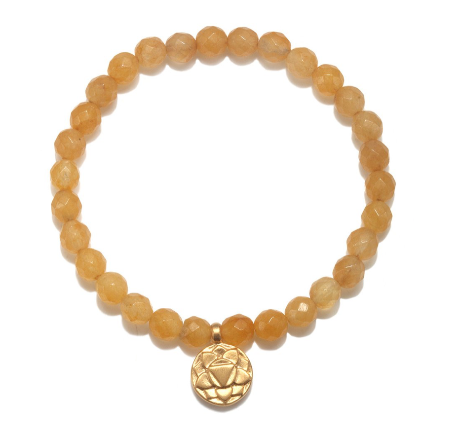 Load image into Gallery viewer, Solar Plexus Chakra Stretch Bracelet