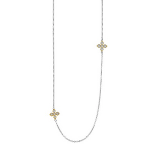Maltese Cross Station Necklace