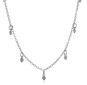 Arise Anew Silver Choker Necklace