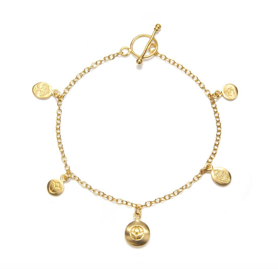 Pieces Of You Bracelet - Gold