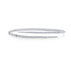 Pointed Bypass Bangle