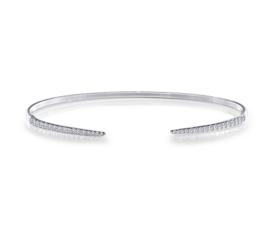 Pointed Open Bangle