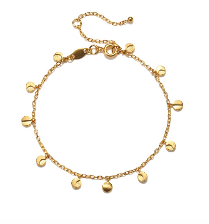 Guided by the Goddess Gold Bracelet
