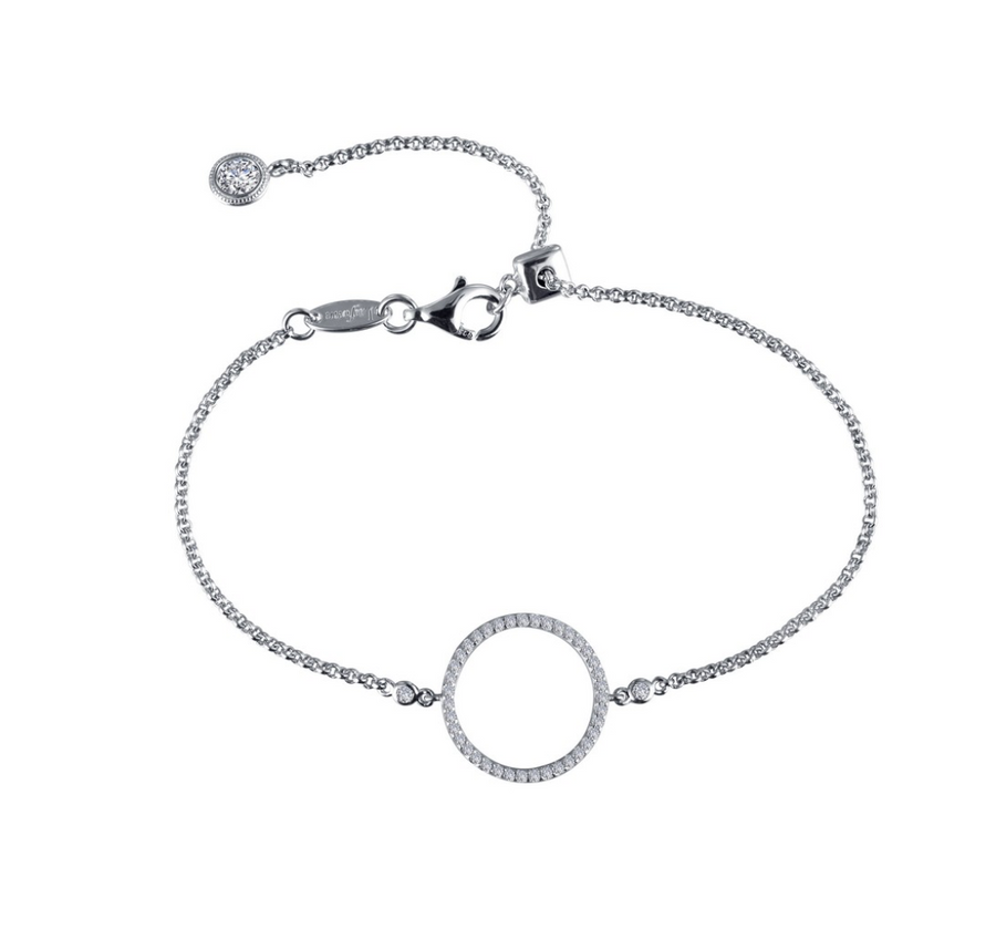 Adjustable Open Circle Bracelet